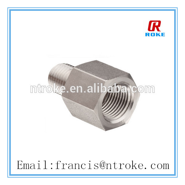 female to male ISO tapered adapter pipe fitting
