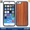 wholesale price natural real wood plastic case for iphone 6 6s