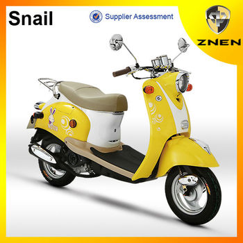 ZNEN MOTOR --Snail Model 50CC gas scooter With EEC EPA DOT Certification Small Scooter good sell