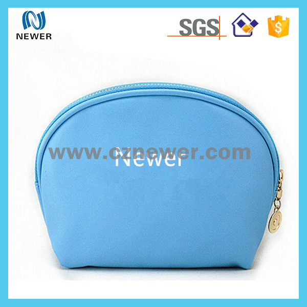 Convenient custom cheapest neoprene waterproof travel cosmetic pouch