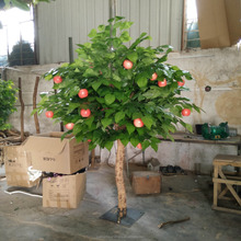 decorative fruit trees artificial apple tree