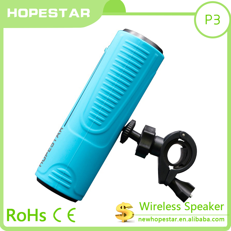 Mini Portable with flashlight bluetooth speaker mini for hold on bicycle sport use speaker