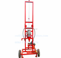 cheap water well drilling rig machine with electric motor for drilling 150m in low cost