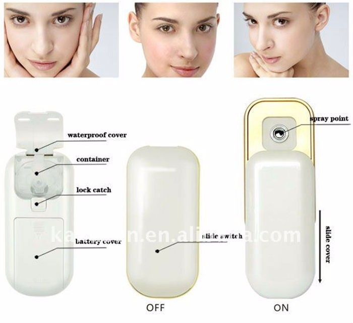 skin care product Facial Nano Mist Hand-held fashion Mini Face Sprayer