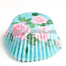 Base 5 x H 5.5 cupcake cases muffin cups paper baking cups from YUGUITANG