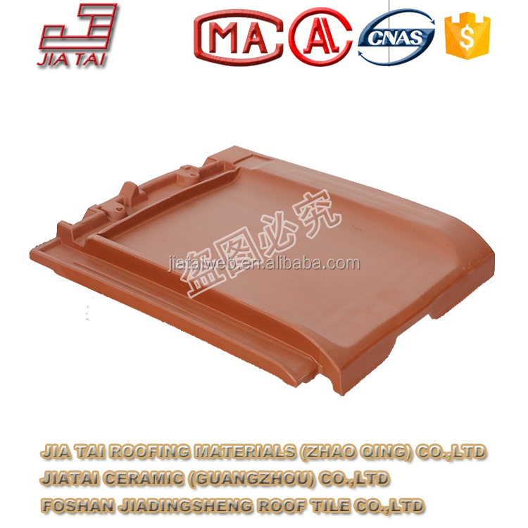 FT-5R00 Chinese export high grade plain clay roofing tiles