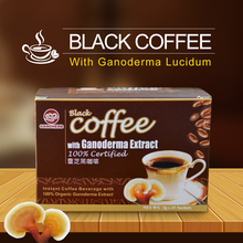 Ganoderma Reishi Mushroom Powder 2 in 1 Private Label Black White Wholesale Instant <strong>Coffee</strong>