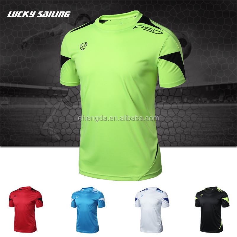 Polyester Dri Fit T-Shirt Hot Football Club Team Design Top Selling Popular Jersey Soccer Training Set
