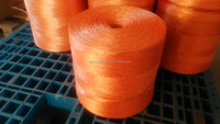 continuous strands of plastic pp oranger baler twine
