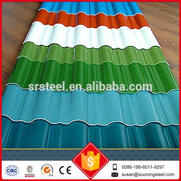 Galvanized Corrugated Metal Roofing Sheets Utility
