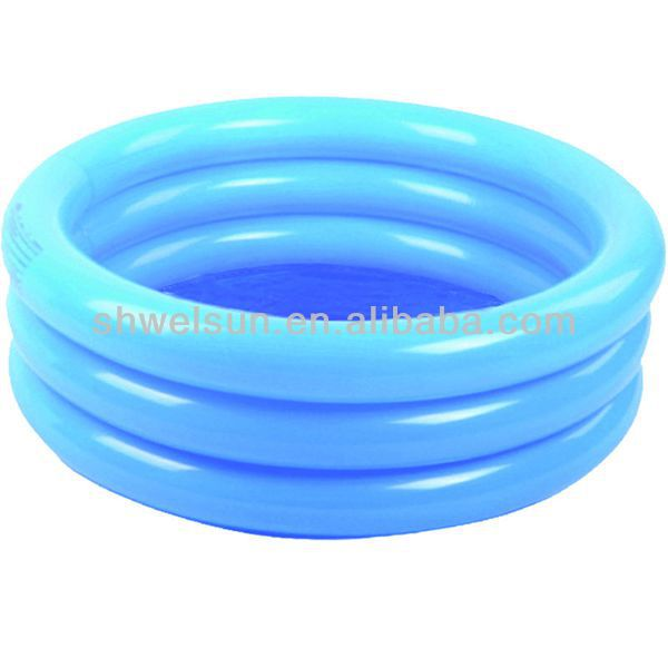 3-Ring Inflatable Kid Swimming Pool