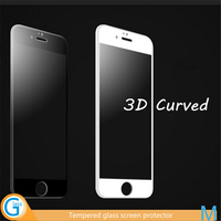 3D Full Cover for iPhone 6 Tempered Glass Edge to Edge Screen Shield