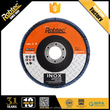 Robtec 2018 Hot Sale Ceramic Flap Discs With High Quality Abrasive