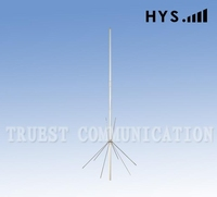 SO-239 VHF 136-174 MHz Fiberglass Base Antenna