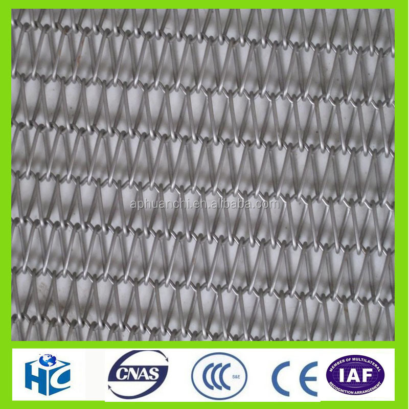 2016 HOT AISI stainless steel chain conveyor belt mesh
