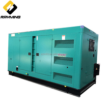 High quality widely used commercial soundproof silent diesel generator 300kw