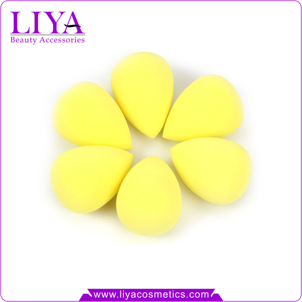 Popular sbr egg shape make up sponge waterdrop makeup sponge for cream