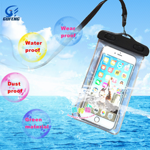 Outdoor Swimming Diving PVC Mobile Phone Waterproof Bag