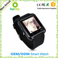 2016 new model a1watch sim card best android & ios smart watch phone u8 u9, oem wrist watch with Barometer pedometer