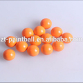 shooting orange field grade paintball balls bullet for match or training