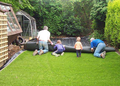 Guangzhou top quality artificial grass gardening decorative turf lawn as real grass