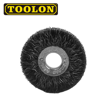 Compact Low Price Steel Wire Round Wheel Brush
