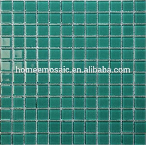 Malla de copias de cristal del mosaico del azulejo verde - Copia de azulejos ...