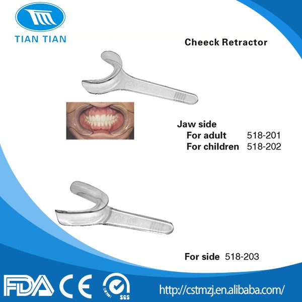 China Dental Mouth Gags Orthodontic Cheeck Retractor