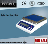 4kg 0.1g Digital Counter Scale with CE certification