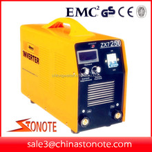 250 amp mma inverter arc welding machine