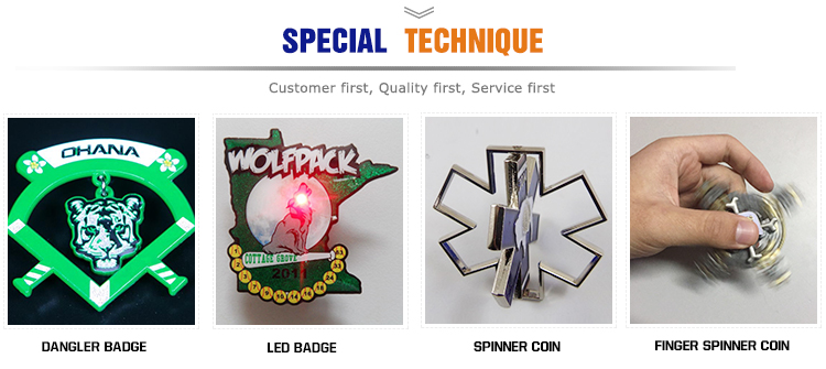 Metal triangle badge Custom hard enamel lapel pin
