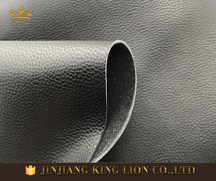 litchi grain faux microfiber leather fabric for shoes making