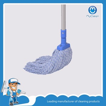 aluminum stick cotton wet floor clean mop manufacture
