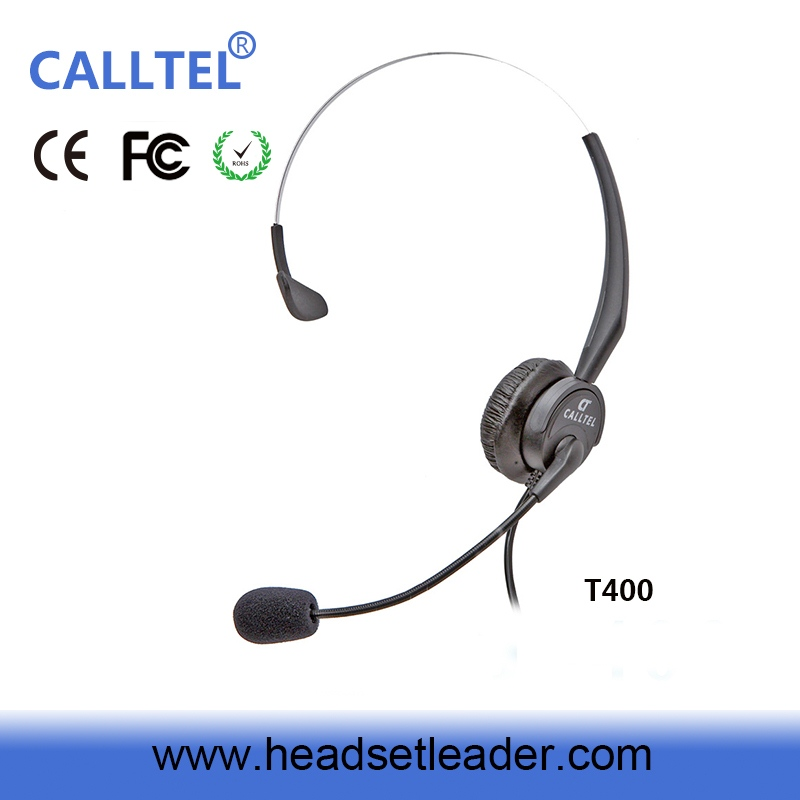 On-ear Call Center usb Headset ip dect phone