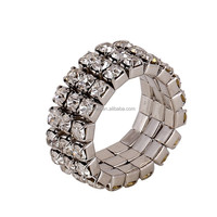 Professional Factory Wholesale Fashion Ring New Crystal Ring