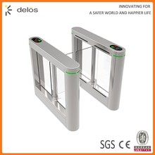 China Supplier High Quality tempered glass swing barrier