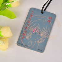 Japanese Style Scented Hanging Car Paper Air Freshener