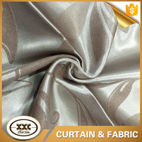 flower design blackout fashion jacquard fabric for curtain