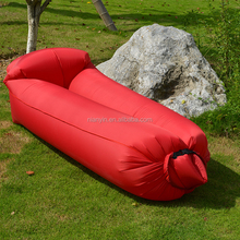 Newest outdoor portable polyester ultralight waterproof air sofa lounger inflatable