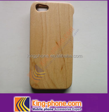 best selling wholesale two parts wooden material cell phone case For iPhone 5s