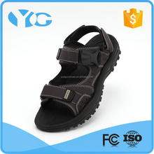 2014china leather sandals manufacturer comfortable breathability sandals shoes for men
