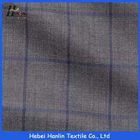 Stretch Stripe Design Polyester/Rayon TR Fabric for Business Suit and Uniform/china wholesale tr 90/10 fabric for suit fabric