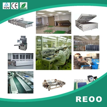 2017 NEW REOO 50 MW Solar Panel Production Line Turnkey Basis With Free Installation And Training