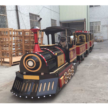 Factoty price mall kids train trackless train for funfair