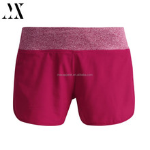 Wholesale custom made women sexy fitness wear yoga gym lady tights 100% polyester quick dry running shorts , yoga shorts