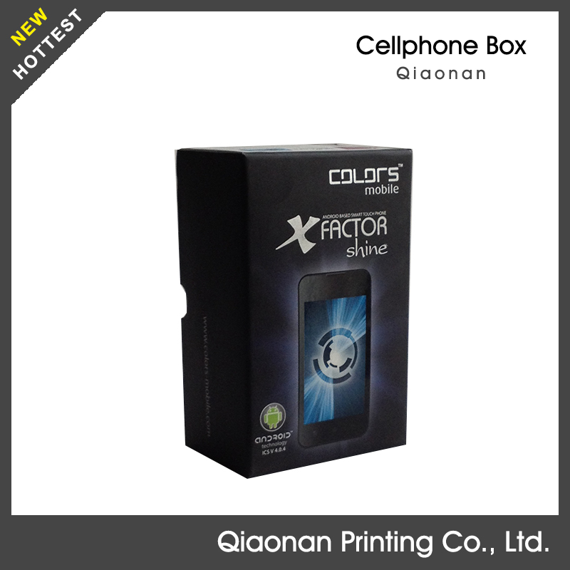 2015 new style Matt lamination ipad and cell phone packaging box