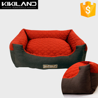 Chinese High quality Customizable Waterproof dog bed with 100% polyester