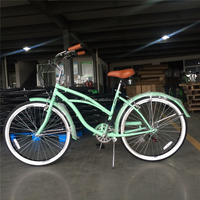 ladies beach cruiser bicycle