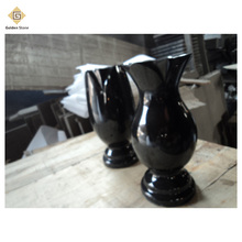 China best price granite vase for grave decorations