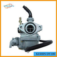 Low price DY100 19MM 110CC Keihin carburetor for sale